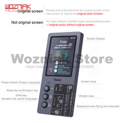 QIANLI iCopy fotossensível Mais LCD Tela Reparação de Instrumentos Para 7 7p 8 8p x s XR Bateria xsmax Fotômetro