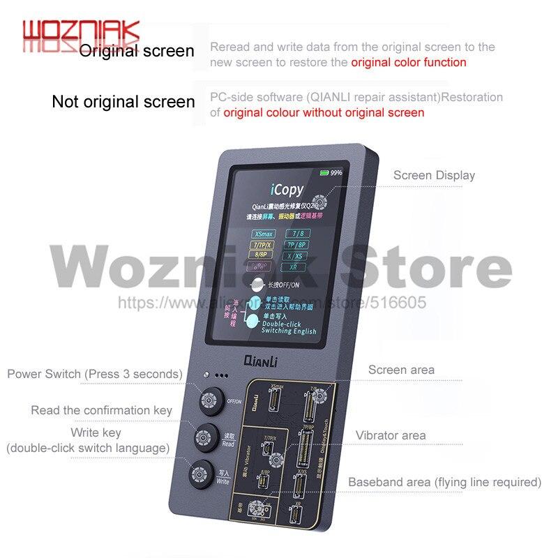 Qianli Icopy Plus Lcd-scherm Lichtgevoelige Reparatie Instrument Voor 7 7 P 8 8 P X S Xr Xsmax Batterij photometer
