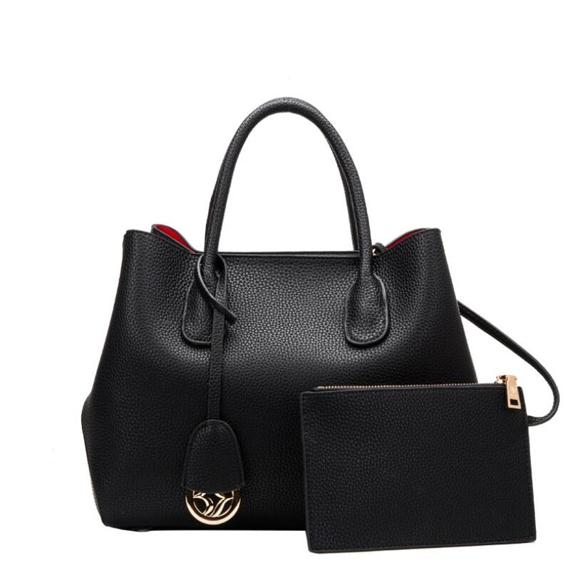 Large Handbag Genuine Leather Luxury Brand Top-handle Bag High Quality Women soft Shoulder Bags DX18080603 large size handbag retro bag 100% genuine leather luxury brand top handle bag high quality women soft shoulder bags 18033002