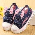 2017 novas crianças shoes menina shoes crianças lona shoes primavera e verão do bebê da criança estilo do entalhe shoes sneaker menina