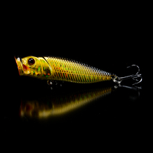 1pcs Lifelike Poper Fishing Lures Artificial High QUality Jerkbait Bass Wobbler Fishing Tackle 5 Colors Topwater Bait Wholesale