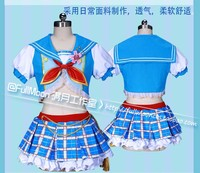 New LoveLive! Card SR Nico Yazawa Navy Awakening Cosplay Fancy Dress Kawaii SR Uniform Outfits Halloween Costumes for Women