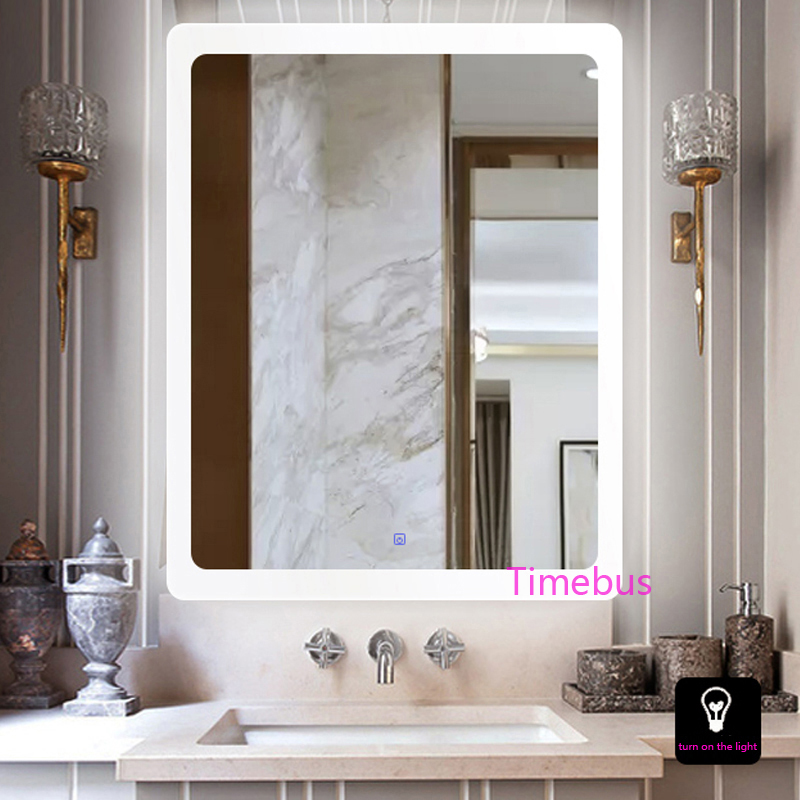 Bathroom Intelligent led Mirror Wall Lamp Fog-proof Toilet Bathroom led Mirror Beauty Cosmetology Salon Wall Mirror With Lights 1