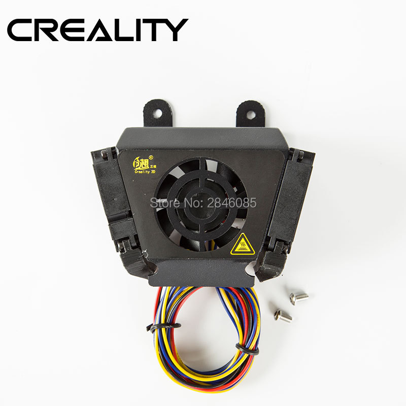 Official Factory Supply Creality 3D Parts CR-X Fan Cover Case Kit With 2PCS Cooling Fan For CR-X 3D Printer Parts abs case with cooling fan heatsink removable top cover
