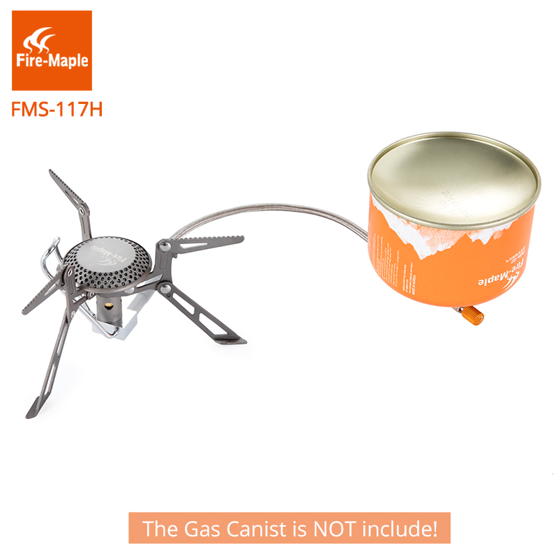 Fire Maple Blade 2 Titanium Inverted stove Ultra Light Upgrade Split Outdoor Cooker Gas Burner Camping Equipment 135g FMS-117H fire maple personal cooking system outdoor hiking camping oven portable best propane gas stove burner fire maple fms x2