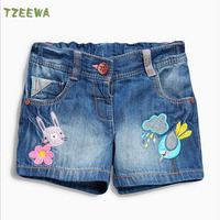 Girl Shorts Children Summer Style 2016 New Brand Kids Shorts For Girls Printed Fashion Baby Girl