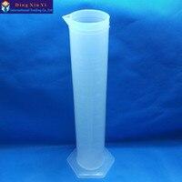 2000ML Plastic Cylinder Large Measuring Laboratory Cylinder Plastic Graduated Cylinder Laboratory Test Cylinder