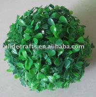 12 cm Fish Tank Green Grass Plastica Palla Ornamento Pianta Decorazione Del Partito Garden Decor Spedizione Gratuita