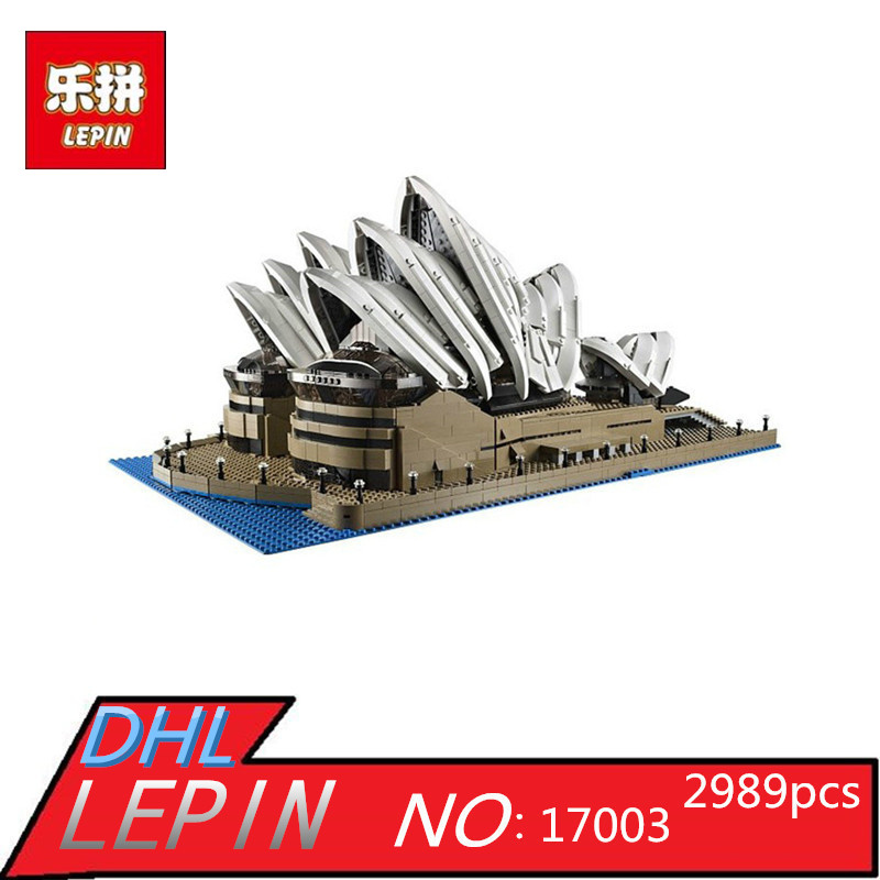 LEPIN 17003 Creator Sydney Opera House Model Building Blocks Toys Kids Gift educational for children Compatible  10222 dayan gem vi cube speed puzzle magic cubes educational game toys gift for children kids grownups