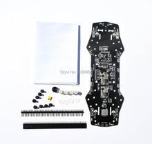Мощность распределительный щит pdb доска 5 В/12 В BEC зуммер светодиодный Поддержка OSD для F3 CC3D Naze32 Flight управление QAV250 ZMR 250 Радиоуправляемый Дрон