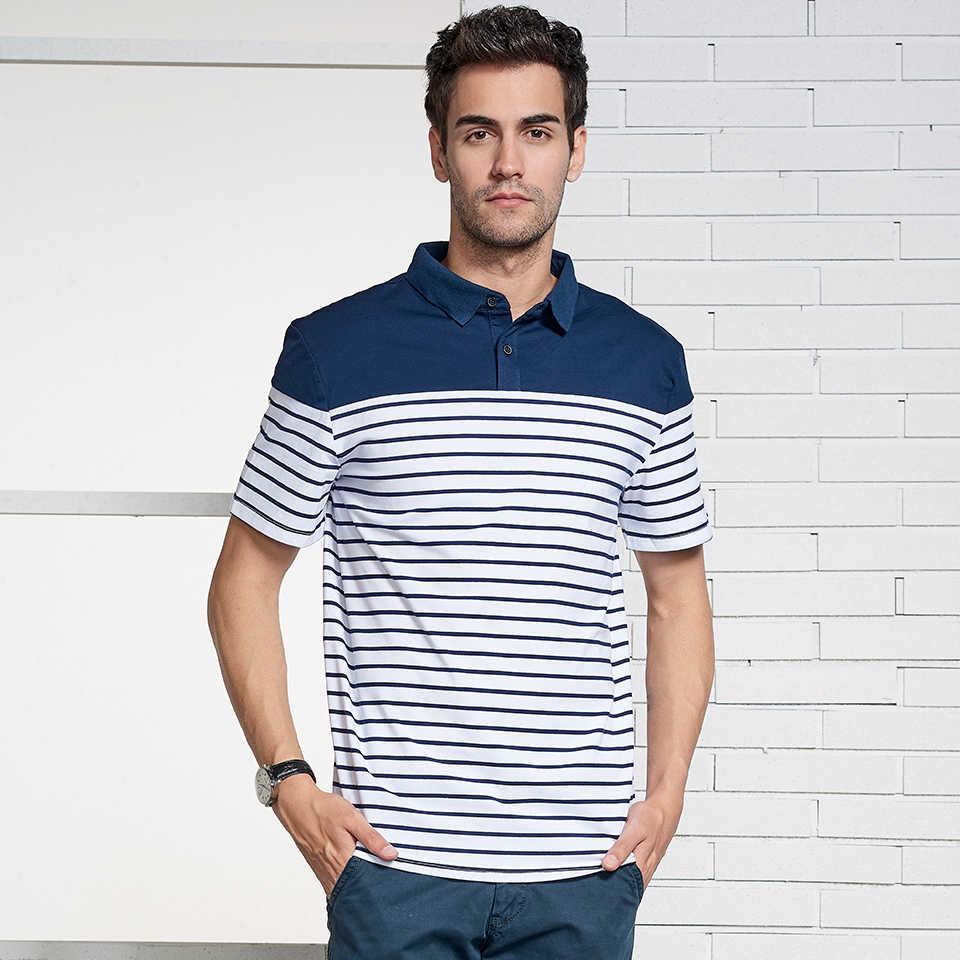 548b4096435 ... Htlb Новый Элитный бренд Для мужчин Повседневное хлопок шелк футболка- поло Для мужчин лето Для ...