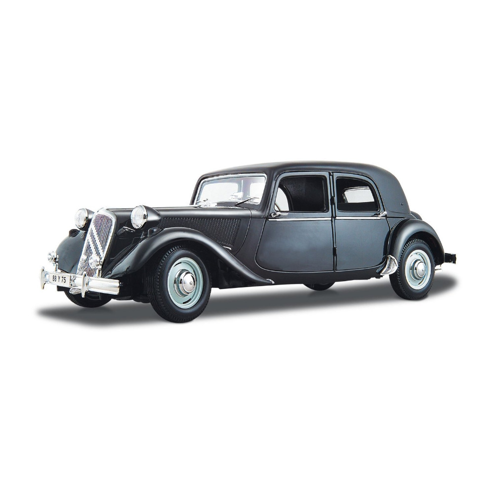 Maisto 1952 Citroen 15CV 6 CYL Diecast Model Car Toy New In Box Free Shipping maisto 1952 citroen 15cv 6 cyl 1 18 scale car model alloy toys diecasts