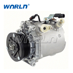 Automatyczna sprężarka klimatyzacji dla Mitsubishi Lancer/Outlander 1.8 2.0/Citroen c crosser 2.2 2.4/dla Peugeot 4007 2.2 2.4 AKC200A221|a/c compressor|mitsubishi lancer compressormitsubishi outlander compressor -