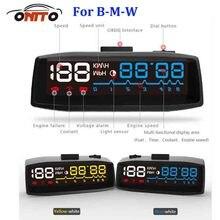 Авто HUD освещения автомобилей HUD head up отображает OBD2 евро OBD выход для bmw E60 E90 F10 F30 F15 E63 e64 E65 E86 E89 авто лампы