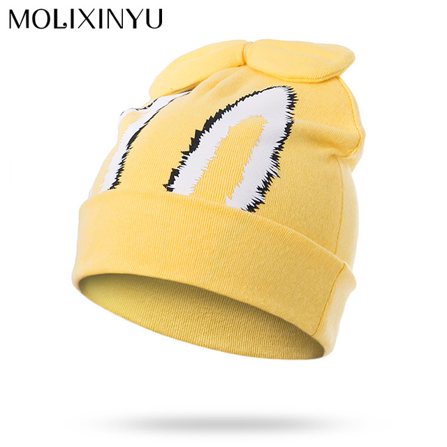 b2dc7a52da6 MOLIXINYU Newborn Baby Hat Toddler Baby Warm Hat Soft Boys Girls Hats Bow  Beanies For Infant