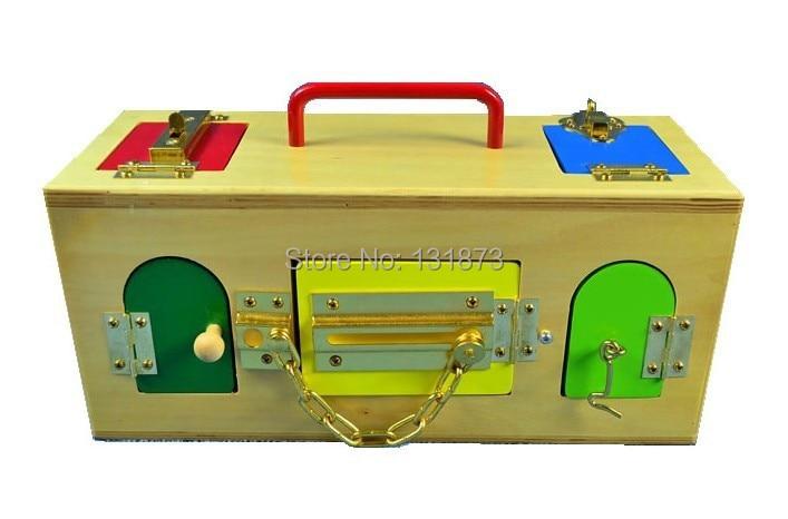 Aliexpress.com : Buy Montessori teaching aids lock box ...