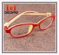 Crianças de luxo Silicone crianças meninos meninas óculos de miopia Glasse quadro Copos de Silicone Macio Para crianças D0279