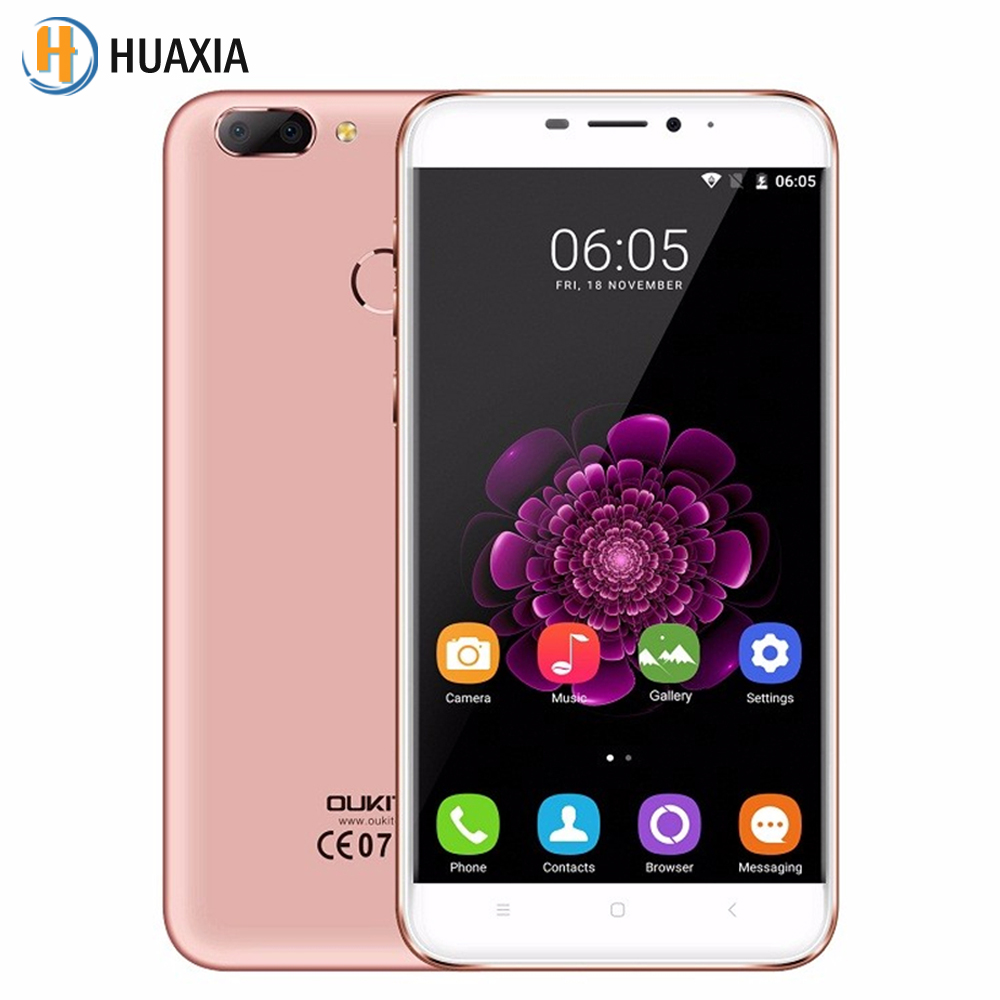Oukitel U20 Plus Dual camera 2GB RAM 16GB ROM Smartphone 5 5 inch Fingerprint Android 6