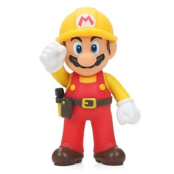 13cm Super Mario Figures Toys Super Mario Bros Bowser Luigi Koopa Yoshi Mario Maker Odyssey Action Figure Model Dolls Toy