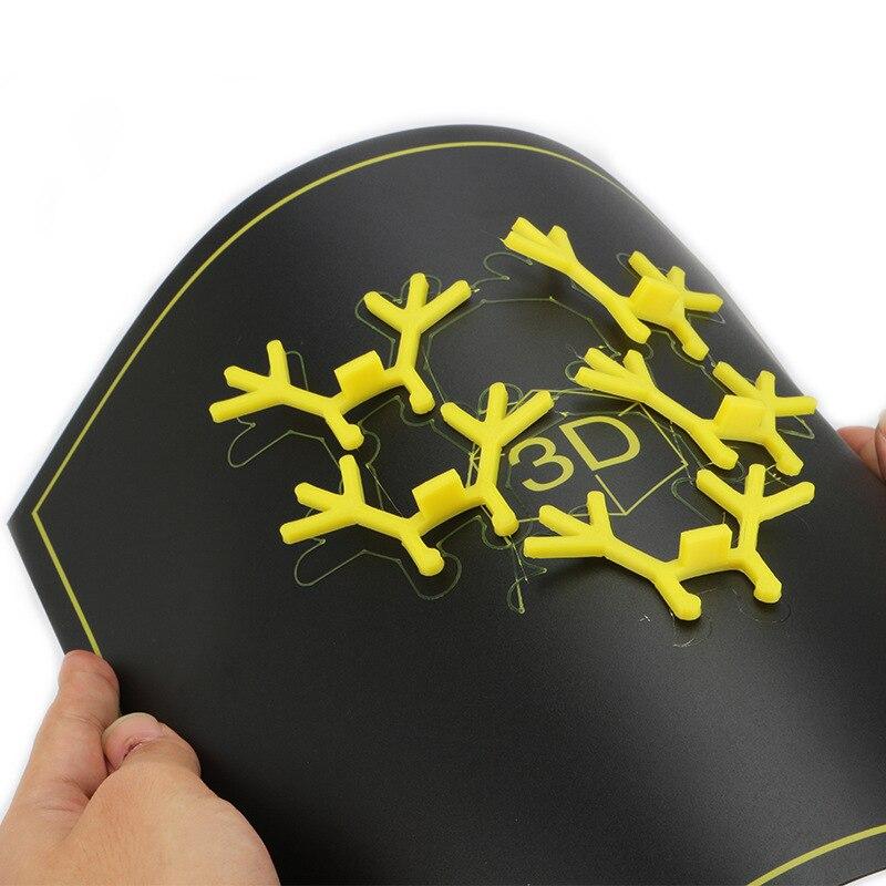 220X220 235X235 300X300MM Magnetic Platform Hotbed Sticker Sheet Build Surface For A8 A6 E12 I3 Mega S Ender-3 3d Printer Parts