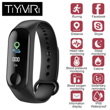 2018 Newest M3 Fitness Tracker Smart Bracelet 0.96