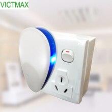 VICTMAX 5W 90V-250V Ηλεκτρονική Αντιμετώπιση Παλμών Ψευδαίσθησης Συχνότητα Μετατροπής συχνότητας υπερήχων Ποντικοί Απορρίψτε τα κουνουπιέρες (US Plug)