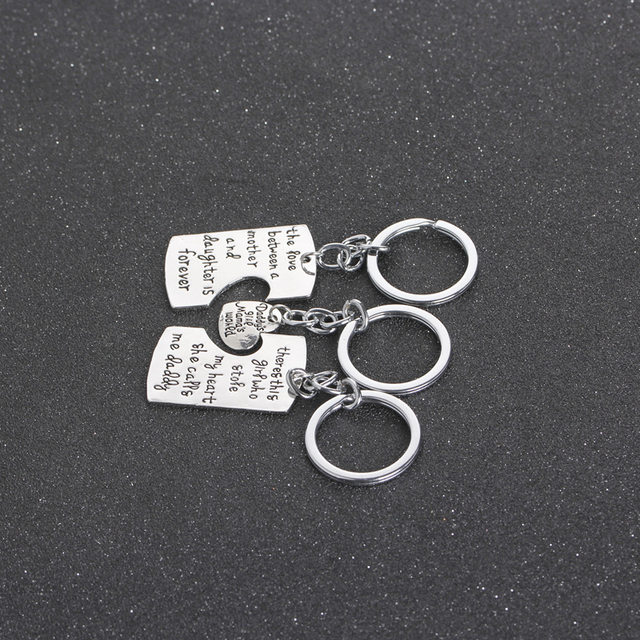Online Shop Christmas Gifts Fathers Mothers Child Jewelry Key Chains ...