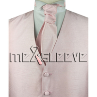 Free Shipping Tuxedo Vest Formal Waistcoat Wedding Rose Pink Vest