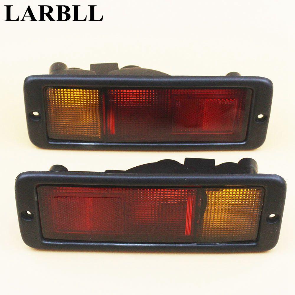 LARBLL Pair New Tail Rear Light Lamp Set Kit Left&Right For Mitsubishi Pajero MONTERO Shogun 91-03 MR124963FC   MR124964FC turbo tf035 49135 02910 49135 02920 1515a123 turbocharger for mitsubishi shogun pajero montero 2007 4m42 4m42t tritan 3200 3 2l