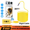 XINFICAM Wifi Endoscope 1200P HD Camera 8mm For Android IOS Iphone Wire Pipe Snake Camera Car