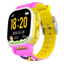 Tencent QQ Children Smart Watch GPS Tracker Kids Phone Camera LBS Location SOS Pedometer Alarm Weather