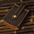 New Arrival Crazy Horse Cowhide Genuine Leather Car Key Case Bag Unisex Housekeeper Keys Holder Keychain Keyrings Organizer Bags