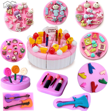 Baby Series ToysTools Shape Silicone Mold For Cake Decorating Tools DIY Biscuit Fondant Cookie Candy Chocolate Mould Sugar Craft
