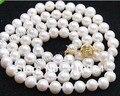 """$ Wholesale_jewelry_wig $ бесплатная доставка 7-8 мм Белый Akoya Культивированный Жемчуг Ожерелье 25 """"дюймов"""