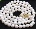 "$wholesale_jewelry_wig$ free shipping 7-8mm White Akoya Cultured Pearl Necklace 25"" inch"