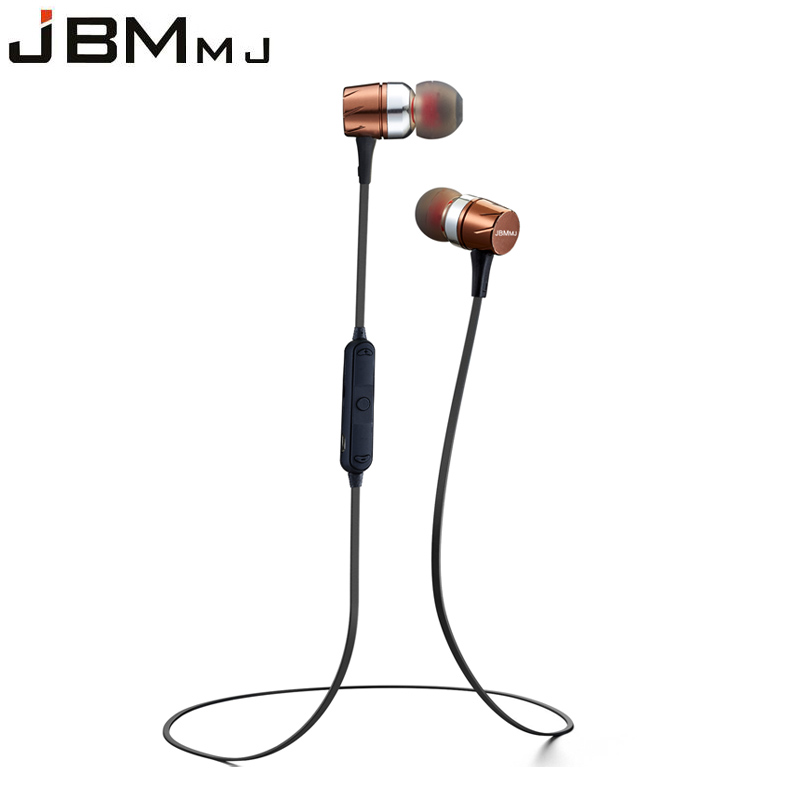 JBMMJ F16 Bluetooth Wireless Sport Running Earphone Stereo Music Earphones Earbuds ear cup With Mic Microphone for voice call ttlife wireless earphones bluetooth mini503 sport music stereo earphones with mic sd card slot earbuds for all phone