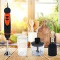300 Вт блендер ручной миксер Электрический Мясорубка ручная машина для измельчения овощей кухонный комбайн с измельчителем венчик