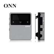 ONN X1 Running Jogging Portable Digital Sport Audio Mp 3 Screen Mini Clip Music Mp3 Player Bluetooth With Headphone 8gb Radio FM(China)