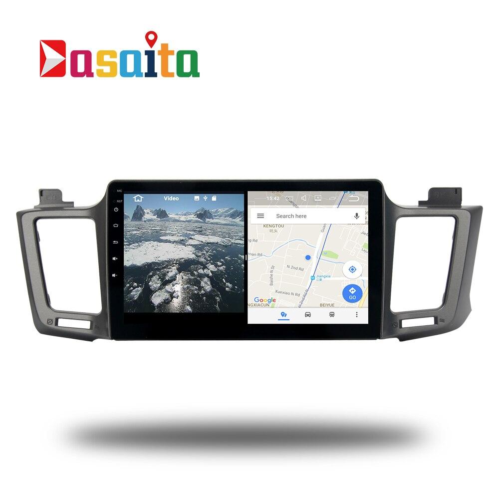 Android 7.1 stéréo Autoradio pour Toyota RAV4 2013-2017 RAV 4 Permanent radio navi GPS Radio headunit wifi livraison carte Tête Dispositif