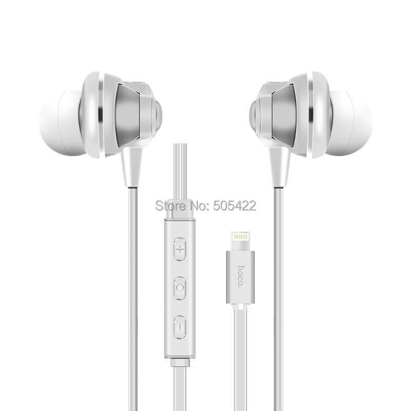 ФОТО Earphone for Iphone 7 Lightning Jack Earphone Earbuds Headphone