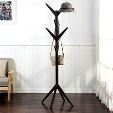 Вуд посадку вешалки деревянные вешалки творческий простой вешалка для одежды для гостиной спальня