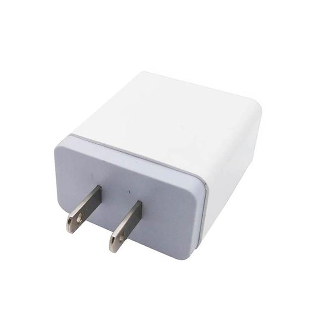 3 USB Mobile Phone Charging Head 5V2.4A Adapter US EU 43g Standard 2400(mA) Wall Charging Travel Charger