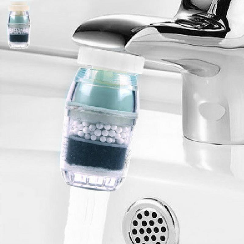Kitchen Activated Carbon Water Filter Faucet Tap Household Water Purifier Remove Rust Sediment Filtering Clean Purifier Filter