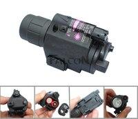 Red Dot לייזר Sight ציד סקופס ראייה אופטית Riflescope + קומפקט טקטי פנס לפיד קומבו עם 20 מ