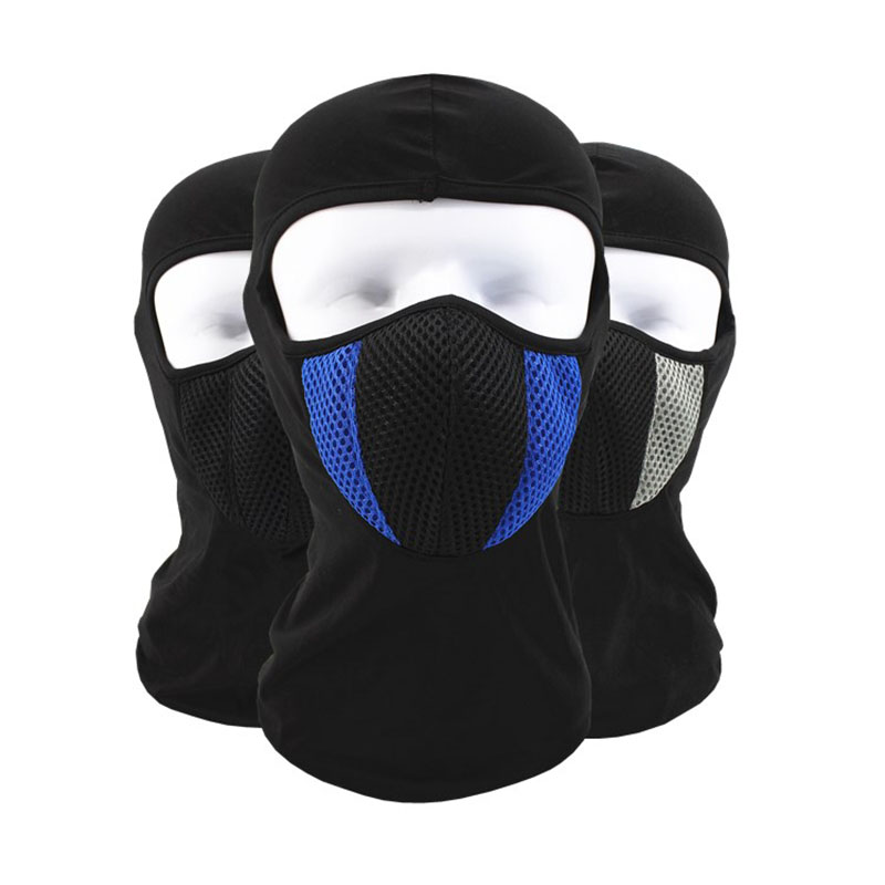 Winter Warm Motorcycle Wind Stopper Face Mask Neck Helmet beanies Cap For Men Women Bicycle Thermal Fleece Balaclava Hat
