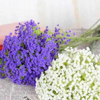 1pic 160 Kopf Rustikalen Kunstliche Blumen Weiss Gypsophila