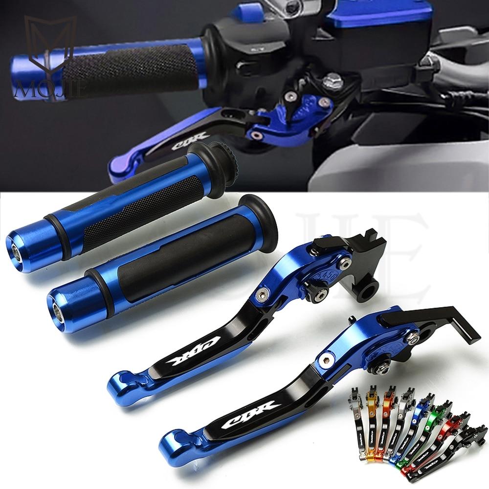 Per Honda CBR CB 125R CBR250R CB125R CBR125R 250R 125 250 R Del Motociclo di CNC del Freno Regolabile Leva Frizione Maniglia Grips manubrio