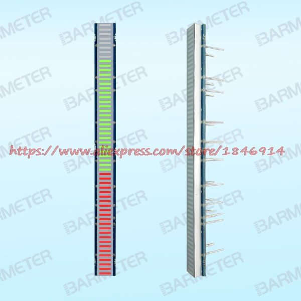 BL56-1005MD 56 Sections Of Red Double Color LED Bargraph Display Devices, 100mm Long