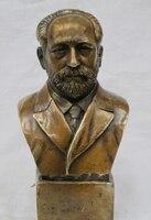 """Xd 003428 8 """"Zachodniej Brązu Friedrich germans Engels Biust Statua  światowej sławy myśliciel w Posągi i rzeźby od Dom i ogród na"""