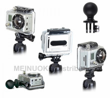 1 inch ball with tripod mount for Gopro Hero Action Camera compatible for ram mount